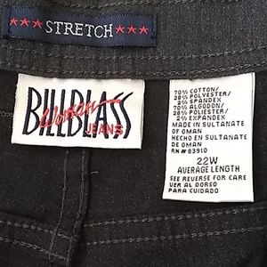 Bill blass jeans 👖 charcoal gray